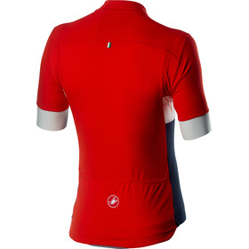 Castelli Prologo VI SS Jersey Men fiery red/ivory/dark infinity blue